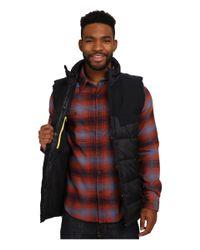 Merrell - Black City Puffer Vest for Men - Lyst