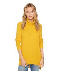Kensie - Yellow Warm Touch Turtleneck Sweater Ks0k5665 - Lyst