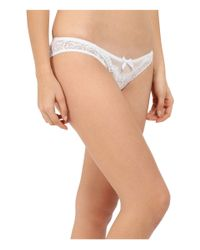 L'Agent by Agent Provocateur - White Vanesa Mini Brief - Lyst