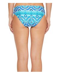 La Blanca - Blue All In The Mix Reversible Hipster Bottom - Lyst