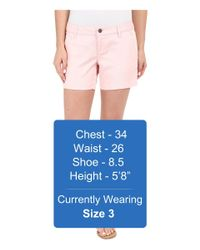 """Volcom - Pink Frochickie 5"""" Shorts - Lyst"""