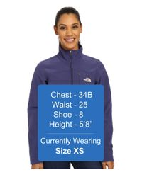 The North Face - Blue Apex Bionic Jacket - Lyst
