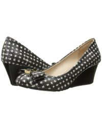 Cole Haan - Black Tali Grand Bow Wedge 65 - Lyst