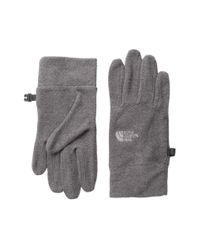 The North Face - Gray Women's Tka 100 Glove - Lyst