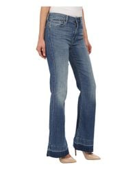 7 For All Mankind - Blue Tailorless Ginger In Bright Light Broken Twill 2 - Lyst