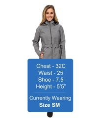 The North Face   Gray Apex Bionic Trench Coat   Lyst