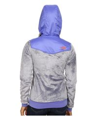 The North Face - Blue Oso Hoodie - Lyst