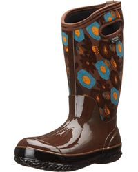 Bogs - Brown Classic Watercolor Tall - Lyst