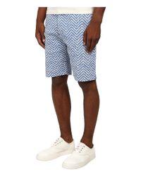 Vivienne Westwood - Blue Democrat Jacquard Herringbone Shorts for Men - Lyst