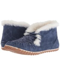 Sorel - Blue Out 'n About Moc - Lyst
