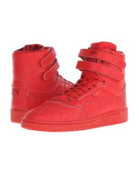 PUMA | Red Sky Ii Roses Hi Women's Sneakers | Lyst