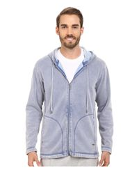 Ugg | Blue Connelly Washed Hoodie for Men | Lyst