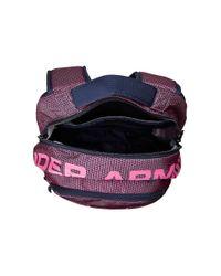 Under Armour - Blue Ua Big Logo Iv Backpack for Men - Lyst