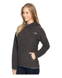 The North Face - Gray Sherpa Pullover - Lyst