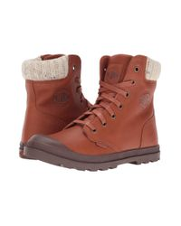Palladium | Brown Pampa Hi Knt Lp | Lyst