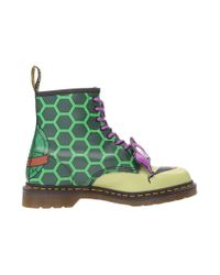 Dr. Martens - Green Donnie 8-eye Boot - Lyst