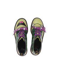 Dr. Martens - Green Donnie 8-eye Boot - Lyst