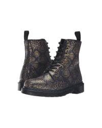 Dr. Martens - Black Pascal Bq 8-eye Boot - Lyst