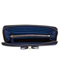 Marc Jacobs - Blue Bow Standard Continental Wallet - Lyst