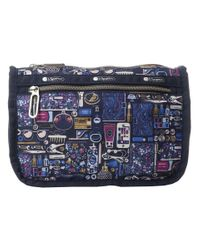 LeSportsac | Blue Everyday Cosmetic Case | Lyst