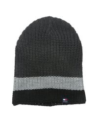 Tommy Hilfiger - Gray Slouchy Patriot Hat for Men - Lyst