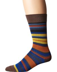 Etro - Natural Mini Striped Socks for Men - Lyst