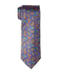 Etro | Blue 8cm Multicolor Floating Paisley Necktie for Men | Lyst