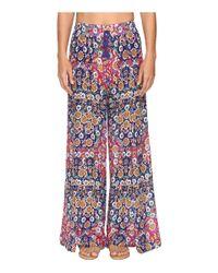 Nanette Lepore | Multicolor Desert Diamond Wrap Pants Cover-up | Lyst