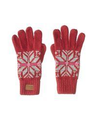Bula - Red Victoria Gloves - Lyst