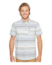 Volcom - Blue Rambler Short Sleeve Woven for Men - Lyst