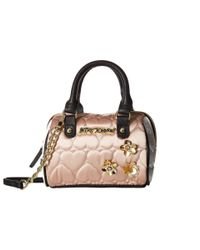 Betsey Johnson | Multicolor Mini Satchel Crossbody | Lyst