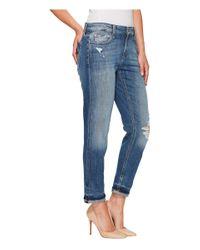 Joe's Jeans Blue Ex-lover Crop In Kassandra