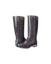 TOMS - Black Cabrilla Rain Boot - Lyst
