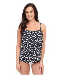 Miraclesuit - Blue Dot's Hot Whimsy Tankini Top - Lyst