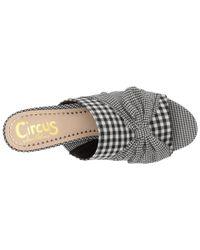 Circus by Sam Edelman - Black Sydney Heeled Sandal - Lyst