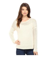 Volcom - White Hold On Tight Crew Sweater - Lyst