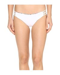 L*Space - White Kaleidoscope Dreams Low Down Classic Bottom - Lyst