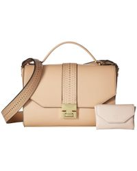 Ivanka Trump - Natural Hopewell Crossbody Messenger - Lyst