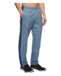 Adidas - Blue Essentials 3s Wind Pants for Men - Lyst