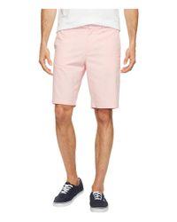 Original Penguin - Pink Cotton Oxford Shorts for Men - Lyst