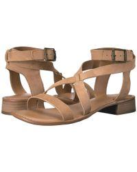 Franco Sarto - Natural Alora Heeled Sandal - Lyst