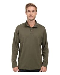 Tommy Bahama - Green Weekend Harbor Snap Mock Shirt for Men - Lyst
