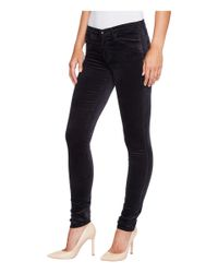 AG Jeans - Blue The Velvet Legging In Dark Sky - Lyst