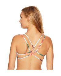 Billabong - Multicolor Bella Beach Crossback Bikini Top - Lyst