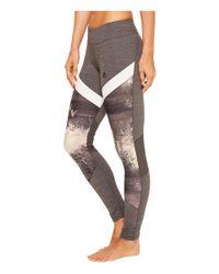 Adidas - Gray Ultimate Printed Long Tights - Lyst