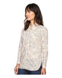 Calvin Klein Jeans - Multicolor Printed Slim Crisp Boyfriend Button Down Long Sleeve Woven Shirt - Lyst
