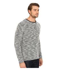 7 Diamonds - Gray Burgos Long Sleeve Shirt for Men - Lyst