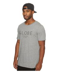 Globe - Gray Company Tee for Men - Lyst