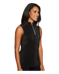 Jamie Sadock - Black Crunchy Sleeveless Top - Lyst