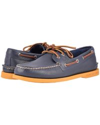 Sperry Top-Sider - Blue A/o 2-eye Color Sole for Men - Lyst